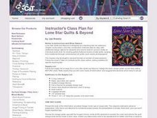 Lone Star Quilts and Beyond Lesson Plan