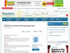 Long Train: 101 Cars on the Track Lesson Plan Lesson Plan