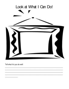 Look What I Can Do! Worksheet