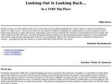 Looking Out Is Looking Back... Lesson Plan