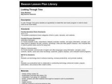 Looking Through Time Lesson Plan