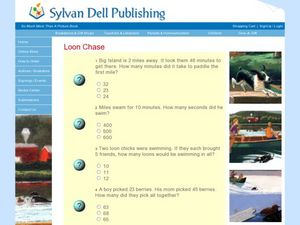 Loon Chase Worksheet