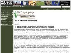 Loss of Wetlands:  Subsidence Lesson Plan