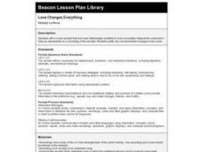 Love Changes Everything Lesson Plan
