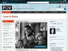 """Love & Diane"" Lesson Plan: Expectations About Parenting Lesson Plan"