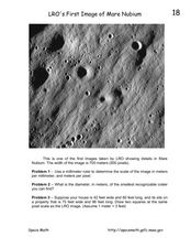 LRO's First Image of Mare Nubium Worksheet