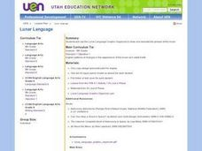 Lunar Language Lesson Plan