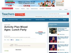 Lunch Party Lesson Plan