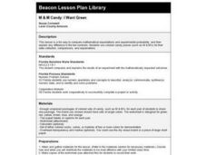 M & M Candy: I Want Green Lesson Plan