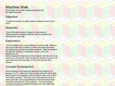 Machine Walk Lesson Plan