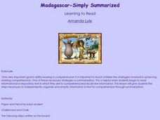 Madagascar-Simply Summarized Lesson Plan