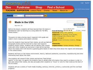Made in the USA Lesson Plan