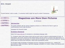 Magazines are More Than Pictures Lesson Plan