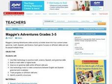 Maggie's Adventures Grades 3-5 Lesson Plan