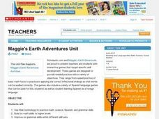 Maggie's Earth Adventures Unit Lesson Plan