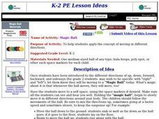 Magic Ball Lesson Plan