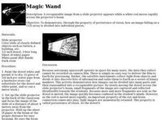 Magic Wand Lesson Plan