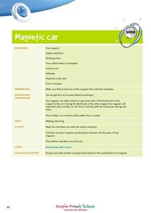 Magnetic Car Lesson Plan