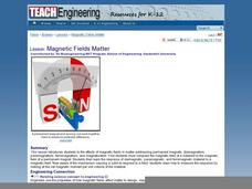 Magnetic Fields Matter Lesson Plan