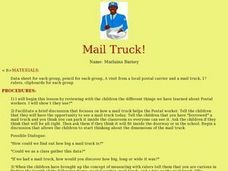 Mail Truck! Lesson Plan