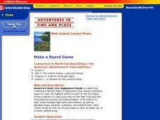Make a Board Game Lesson Plan