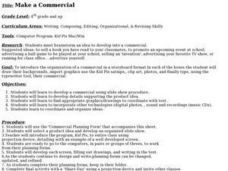 Make a Commercial Lesson Plan