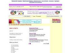 MAKE A PINATA Lesson Plan
