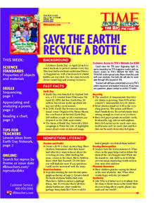 Make Less Trash! Lesson Plan