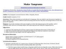 Make Tangrams Lesson Plan