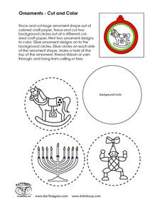 Make the Ornaments Worksheet