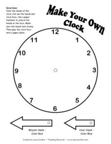 Make Your Own Clock Lesson Plan