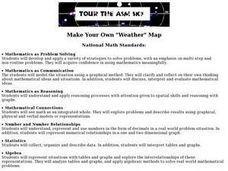 "Make Your Own ""Weather"" Map Lesson Plan"