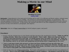 Making a Movie in our Mind Lesson Plan