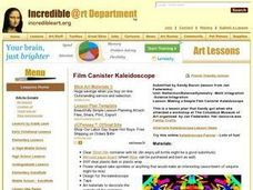 Making a Simple Film Canister Kaleidoscope Lesson Plan