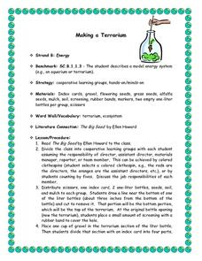 Making a Terrarium Lesson Plan