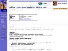 Making Connections: Trade and disease today Lesson Plan