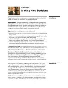 Making Hard Decisions Lesson Plan