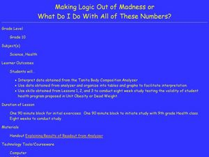 Making Logic Out of Madness Lesson Plan