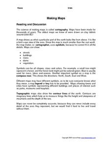 Making Maps Worksheet