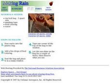 Making Rain Lesson Plan