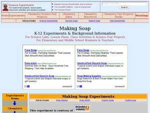 Making Soap Lesson Plan