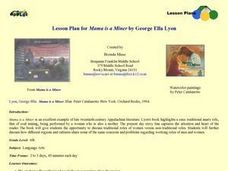 """Mama is a Miner"" by George Ella Lyon Lesson Plan"