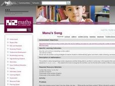 Manu's Song Lesson Plan