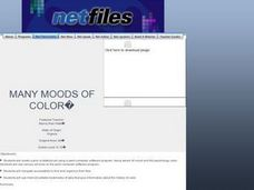 Many Moods of Color Lesson Plan