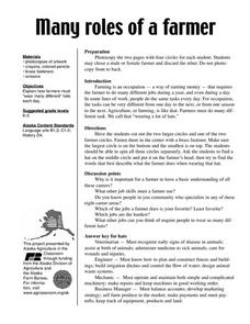 Many Roles of a Farmer Lesson Plan