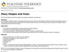 Many Shapes and Sizes Lesson Plan