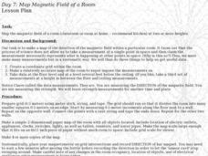 MAP MAGNETIC FIELD OF A ROOM Lesson Plan