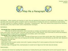 Map Me a Paragraph Lesson Plan