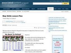 Map Skills Lesson Plan