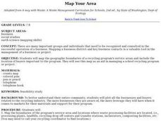 Map Your Area Lesson Plan
